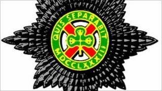 Irish Guards crest