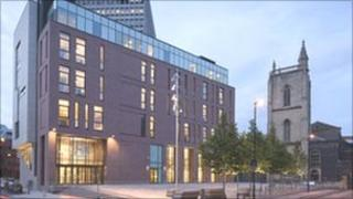 Bristol Civil Justice Centre - Her Majesty's Courts Service