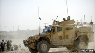 British Army troops in Afghanistan