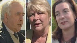 Dafydd Wigley, Jenny Randerson, Eluned Morgan