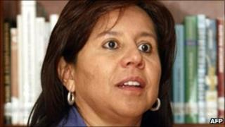 Maria Pilar Hurtado, file pic from 2010