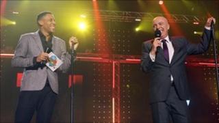 Reggie Yates and John Daly