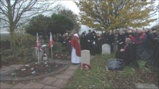 Memorial service Long Ashton