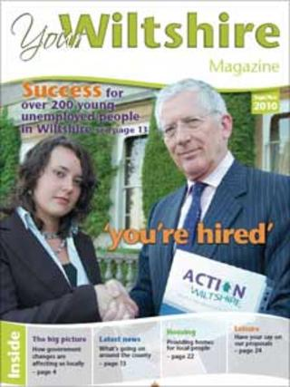 A copy of Your Wiltshire magazine