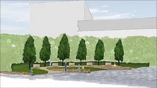 Memorial garden plans