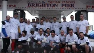 Police on Brighton Pier