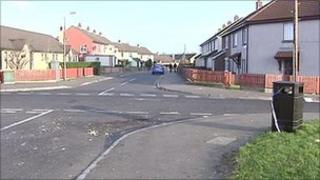 The incident happened at Cromore Gardens in Creggan on Saturday