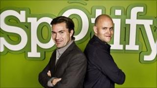 Spotify's founders