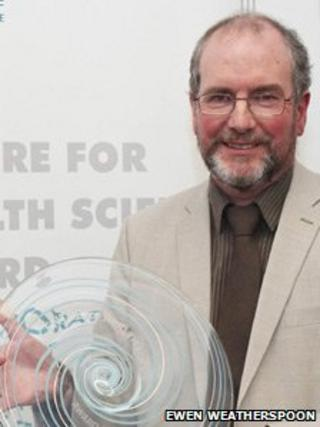 Prof David Godden. Pic: Ewen Weatherspoon