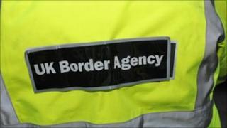 UK Border Agency reflective jacket