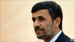 Mahmoud Ahmadinejad pictured in October.