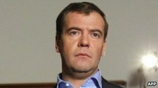 Russian President Dmitry Medvedev. Photo: 24 November 2010