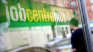 Job centre in Glasgow