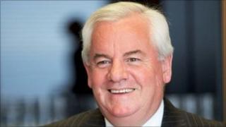 Former HSBC chief Dyfrig John