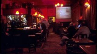 Interior of pub