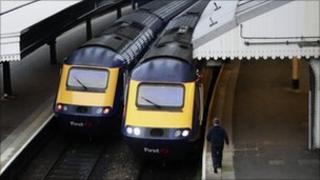 Great Western Trains at London Paddington