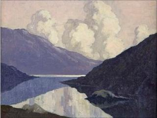 Clouds at Sunset by Paul Henry
