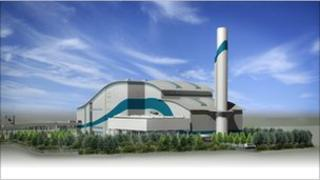 Energy from waste incinerator