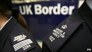 UK Border officials