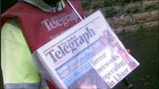Belfast Telegraph seller