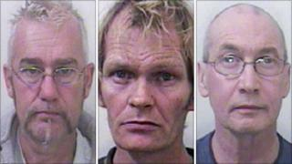 James Machin, John Barrett, John Wrey