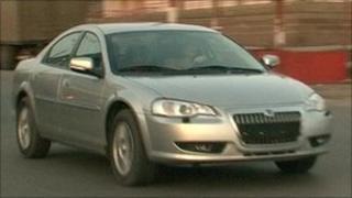 The Volga car
