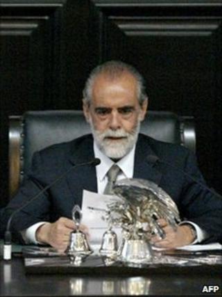 Diego Fernandez de Cevallos (file photo)