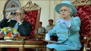 The Queen and Duke of Edinburgh in Oman