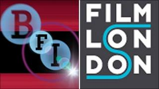 BFI and Film London logos