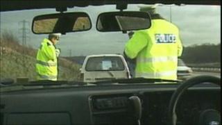 police patrol officers