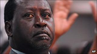 Kenyan Prime Minister Raila Odinga (file photo)