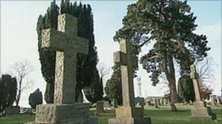 Bland Forum Cemetery