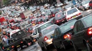 Traffic jam, BBC