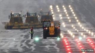Edinburgh Airport runway