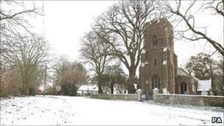 St Andrews church in Toft, Cambridgeshire