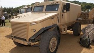 The Foxhound patrol vehicle