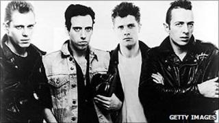 The Clash, pictured in 1983