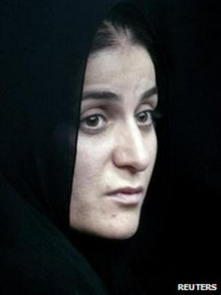 Shahla Jahed in court, 07/06/2010