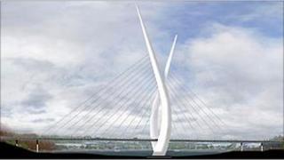 Proposed Sunderland River Wear bridge