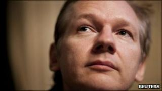 Julian Assange, file pic