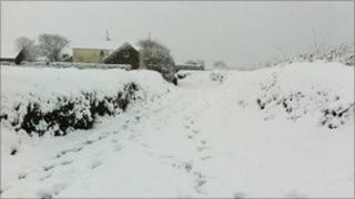 Snow in St Ouen