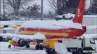 Royal Mail plane