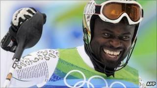 Kwame Nkrumah-Acheampong at the Vancouver 2010 Winter Olympics