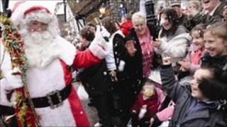 Dickensian Christmas festival in Rochester