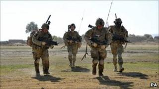 British soldiers in Helmand (file image)