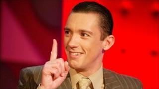 Frankie Dettori on Jonathan Ross show