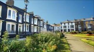 Historic buildings on Hartlepool's Headland