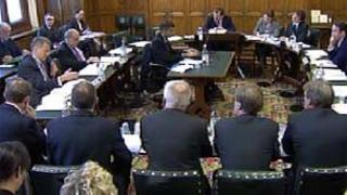 Energy bosses at select committee