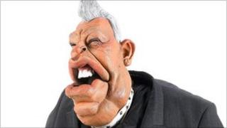 Puppet of Ian Paisley