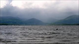 Loch Lomond from Milarrochy Bay